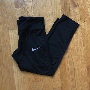 Nike Black Cropped Legging